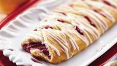 Cherry Cream Crescent Coffee Braid Recipe