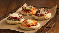 Mini Pizzas Recipe