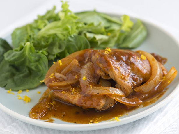 Tomato Braised Chicken with Orange