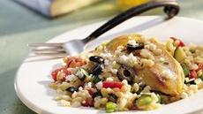 Mediterranean Chicken and Orzo Recipe