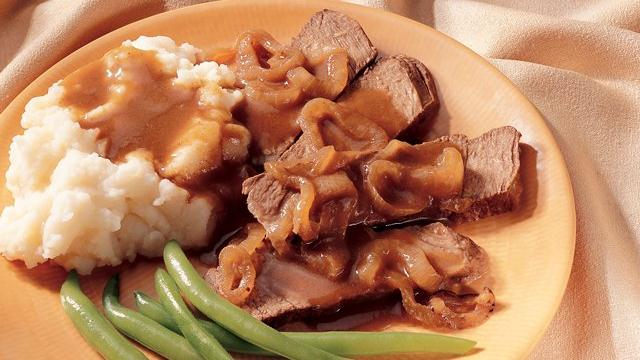 Slow Cooker Caramelized-Onion Pot Roast