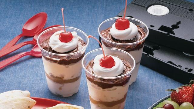Peanut Butter Sundaes-in-a-Cup