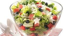Gluten Free Red, White and Blueberry Salad