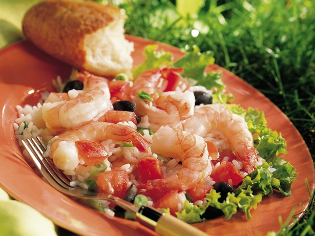 Shrimp Rice Salad