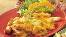 Overnight Chicken Enchilada Bake Recipe