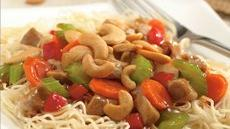 Cashew Pork Chow Mein Recipe