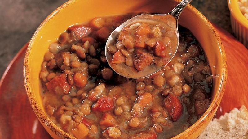 Bistro Lentil Barley Soup