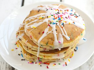 Cake&#32;Batter&#32;Pancakes