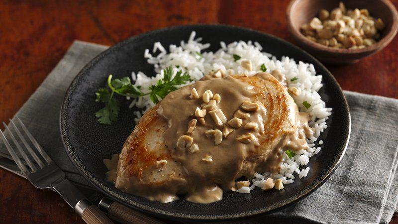 Easy Thai Peanut Chicken