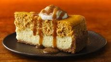Pumpkin-Chai Cheesecake Recipe
