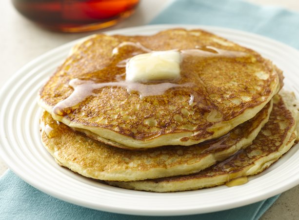 Honey Vanilla Yogurt Pancakes | General Mills Convenience and ...