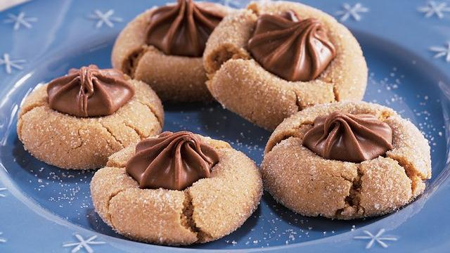 Chocolate Star Gingersnaps