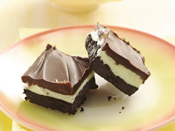 No-Bake After-Dinner Mint Bars