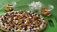 Thanksgiving Cookie Pizza  Recipe