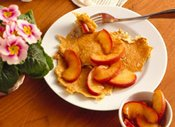 Potato Pancakes with Cinnamon Apples
