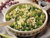 Spicy Bean and Cucumber Salad