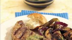 Grilled Steaks with Horseradish-Mustard Sauce Recipe