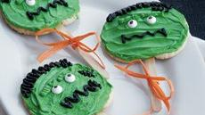 Frankenstein Cookie Pops Recipe