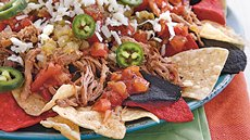 Slow Cooker Pork Carnitas Nachos Recipe