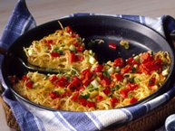 Vermicelli Frittata with Clams