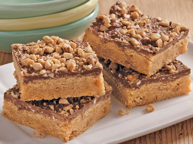 Gluten Free Toffee Peanut Butter Bars