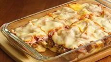 Deep-Dish Chicken Cordon Bleu Recipe