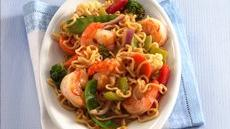 Ramen Shrimp and Vegetables Recipe
