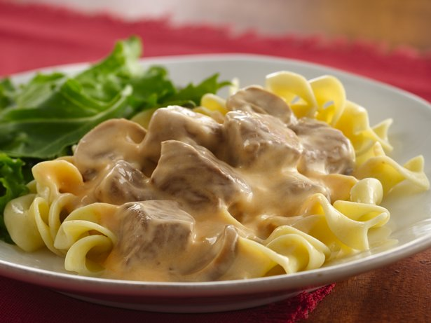 Slow Cooker Beef Stroganoff