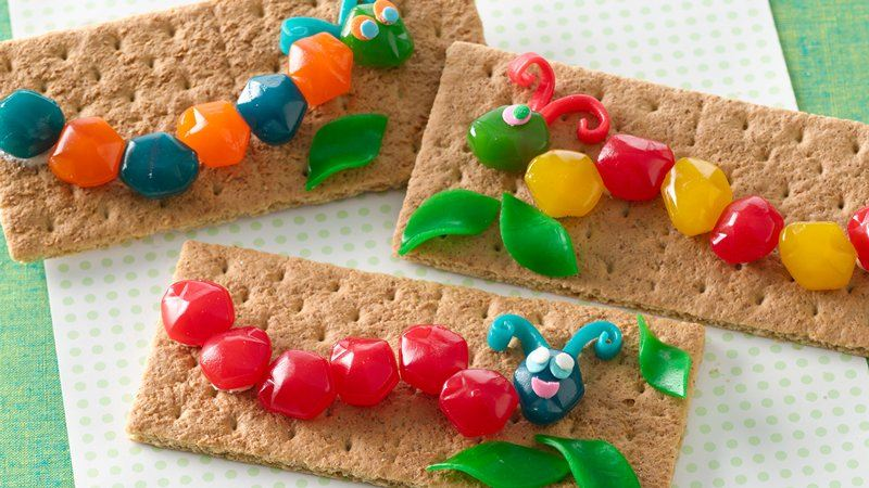 Build-Your-Own Fruit Gushers™ Caterpillars