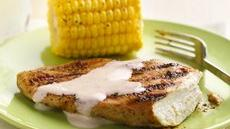 Grilled Smoky Chicken Breasts with Alabama White Barbecue Sauce Recipe