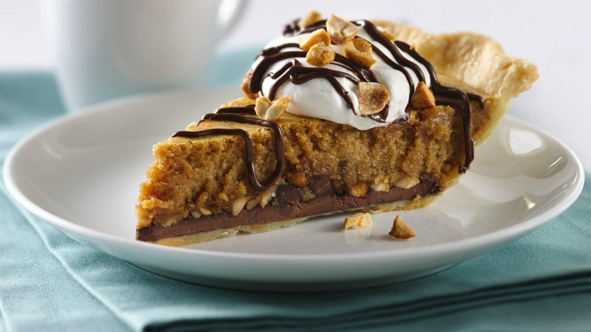 Sweet Chocolate Peanut Butter Pie - Life Made Delicious