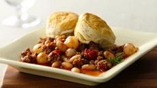 Sausage with White Beans and Rosemary Recipe