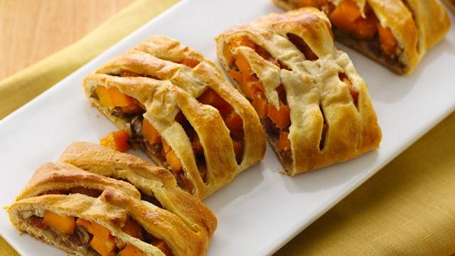 Butternut Squash Brunch Braid