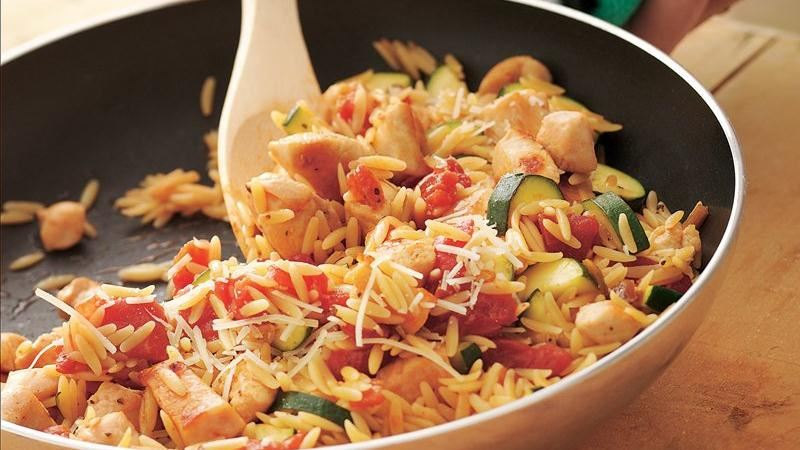 Chicken and Orzo Supper