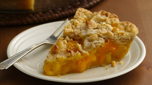 Mango Pineapple Pie with Macadamia Lattice Crust recipe from Pillsbury ...