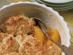 Classic&#32;Bisquick&#32;Peach&#32;Cobbler