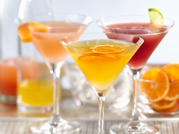 Skinny Clementine Martini