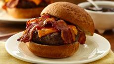 Bacon Cheddar French Onion Burgers Recipe