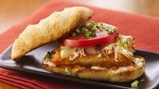 Orange-Coconut Fish Po'Boys Recipe