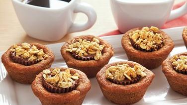 Peanut Butter Candy Bites with Granola