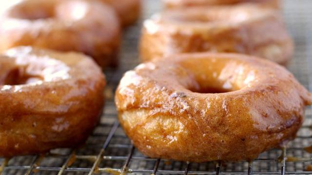 Grands! Pumpkin Doughnuts