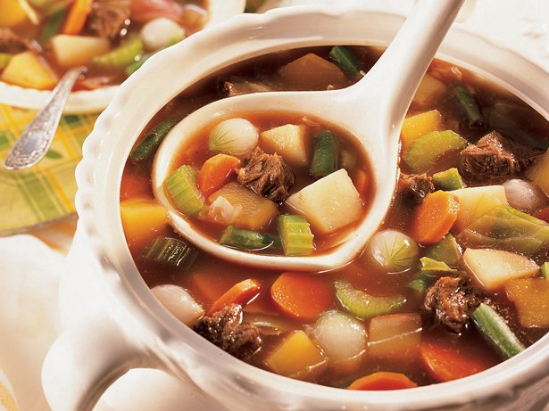 Old-Fashioned Beef-Vegetable Soup