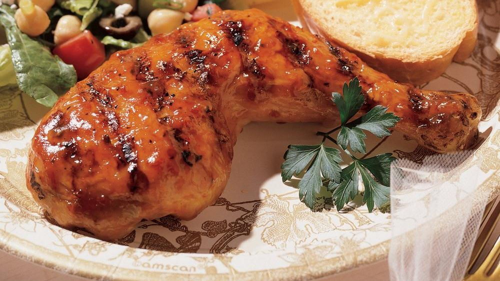Apricot Glazed Chicken Apricot Glazed Chicken