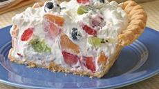 Fruit and Cream Pie Recipe