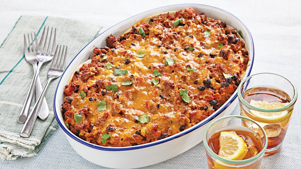 Tex-Mex Lasagna recipe from Pillsbury.com