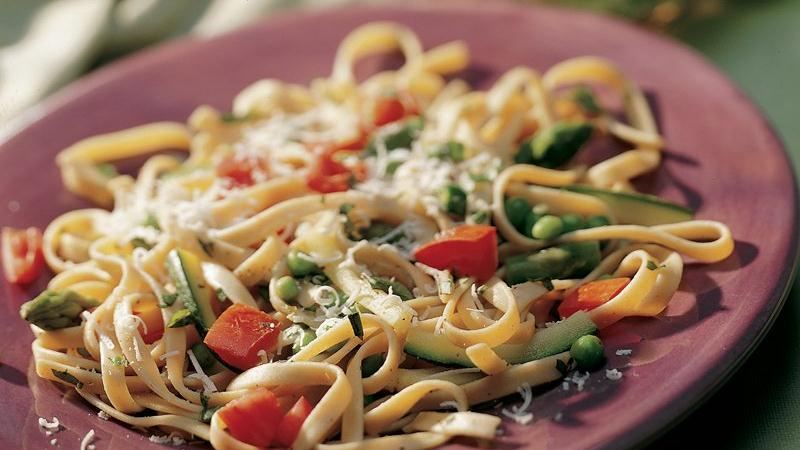 ... fettuccine with spring fettuccine with spring spring vegetable