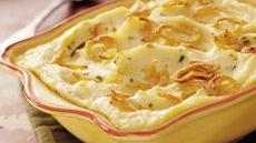 Make-Ahead Sour Cream &#39;n Chive Mashed Potatoes Recipe