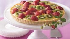 Strawberry-Kiwi Tart Recipe