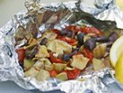Grilled Mediterranean Tilapia Packets
