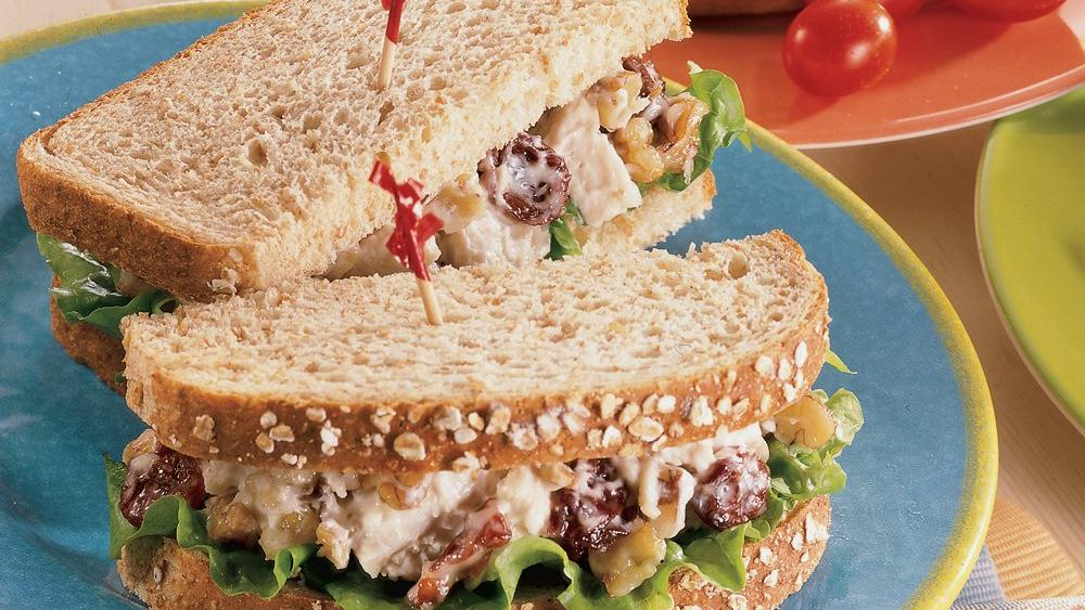 Cherry-Chicken Salad Sandwiches
